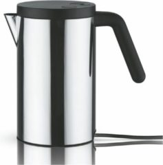 Zilveren Alessi - Electric Kettle Hot.it Black 0,8 L