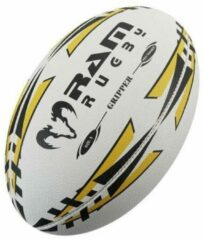 RAM Rugtby Gripper rugbybal bundel - Wedstrijd/training - Met draagtas - Maat 4 - Blauw - 15 stuks