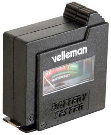 Afbeelding van Zwarte Velleman BATTEST Zwart vermogen / batterij tester
