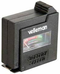Zwarte Velleman BATTEST Zwart vermogen / batterij tester