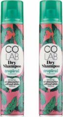Colab Droogshampoo Tropical, 200 ml - 2 pak