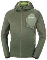 Fleecejacke Triple Canyon™ Hooded Fleece mit schweißableitenden Eigenschaften EO0032-213 Columbia Peatmoss