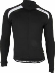 XLC Sport Shirt - Fietsshirt - Heren - Lange Mouw - Maat XL - Zwart/Wit