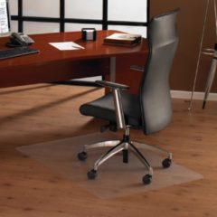 Transparante Floortex vloermat Cleartex Ultimat voor harde oppervlakken rechthoekig formaat 119 x 75 cm