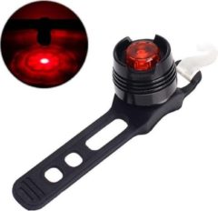 Rode KortingCamera.NL LED Waterdichte Fiets Achter Tail Helm Red Flash Light