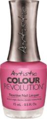 Roze Artistic Nail Design Colour Revolution 'Love at First Skate'