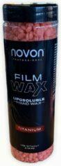 Roze Novon Harskorrels - Ontharings Hars - Ontharings Wax - Wax Bonen - Voor Wax Apparaat - 400 gram - Titanium