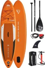 "Oranje Aqua Marina - Fusion - 10'10"" - 2021 - Opblaasbare supboard - Allround supboard - Beginner - Suppen - 15PSI"