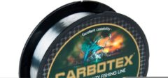 Grijze Carbotex Coated - Nylon Vislijn - 0.10mm - 150m