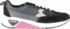 Zwarte Diesel Y01998 s-kb low lace ii schoenen