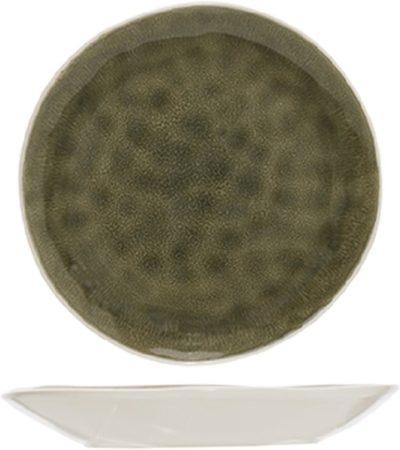 Afbeelding van Cosy&Trendy Cosy en Trendy Spirit Olive Plat Bord in Aardewerk - D27cm (set van 6) En Yourkitchen E-kookboek - Heerlijke Smulrecepten