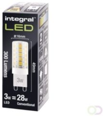 Integral LED Integral G9 LED 3 watt extra warm wit 2700K dimbaar