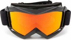 Zwarte Outtrek goggle met geel glas - Skibril - Snowboardbril
