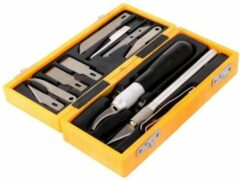 Roestvrijstalen ABC-Led Professioneel scalpel messen set - 13 delig
