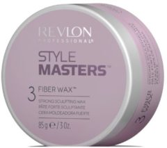 REVLON STYLE MASTERS FIBER WAX STRONG SCULPTING WAX HOLD 3 - LOOK NATURAL 85GR