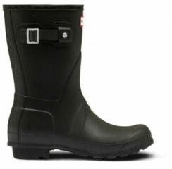 Hunter - Women's Original Short - Rubberen laarzen maat 37, zwart/bruin/zwart/zwart/grijs/zwart/grijs/olijfgroen/zwart/grijs