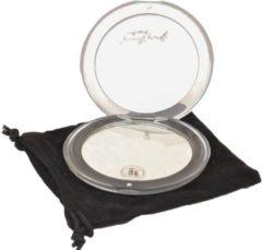 Transparante Gerard Brinard Gérard Brinard tasspiegeltje acryl spiegel 5x vergroting - Ø8cm
