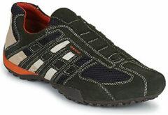 Grijze Sneakers U SNAKE L U4207L by Geox