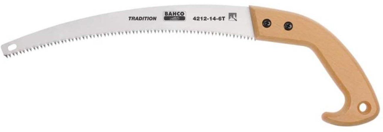 Afbeelding van Bruine Bahco traditionele snoeizaag 360 mm 4212-14-6t