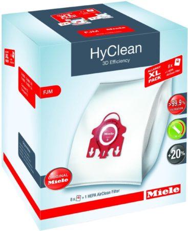 Afbeelding van Miele HyClean 3D Efficiency FJM Allergy XL Pack - Stofzuigerzakken - 8 stuks