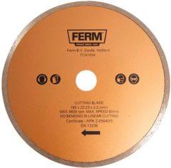 FERM diamant zaagblad 180 mm voor tegelzaagmachine TCA1004