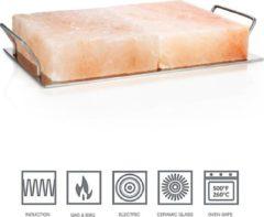 Roze Rivsalt Himalayan zoutblok Pro - bakplaat - 8,5KG