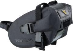Zwarte Topeak Wedge Drybag zadeltas met band (S) - Zadeltassen