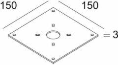 Delta Light Accessoires Plate 2 DL 2290202