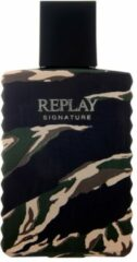 Replay Signature For Man Eau de Toilette (EdT) 50 ml