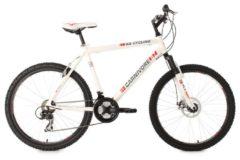 Hardtail-Mountainbike, 26 Zoll, weiß, 21 Gang Kettenschaltung, »Carnivore«, KS Cycling