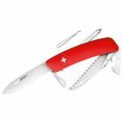 Swiza - Schweizer Messer D06 - Messen maat 7,5 cm, rood