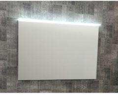 Plieger Edge spiegel met LED verlichting boven 140x65cm PL 0800285