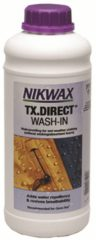 Nikwax, TX. Direct Wash-in, 1 liter, impregneermiddel voor ski- en outdoorkleding