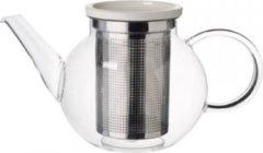 Witte Villeroy & Boch Artesano Hot&Cold Beverages Theepot met zeef 1L