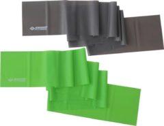 Schildkröt Fitness - Fitnessbänder 2er Set Latexfrei - Fitnessband groen/zwart