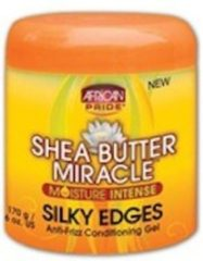 African Pride AP Shea Butter Miracle Silky Edges Gel 200ml
