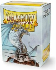 Dragonshield TCG Sleeves - Dragon Shield - Silver Matte Standard Size