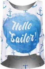 Zumprema - Sailor - Crop Top - Wit