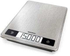 Soehnle KWD Page Profi 200 Digitale keukenweegschaal Digitaal, Met wandbevestiging Weegbereik (max.): 15 kg RVS