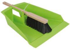 Talen Tools - Stoffer en Blik Groen - Groot - Extra stevig