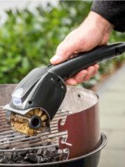 Elektrische barbecuereiniger Maximex zwart
