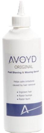 Afbeelding van Witte Avoyd Original 450ml - Navulverpakking - Voorkomt en verhelpt ingegroeide haartjes, scheerirritatie en scheerbultjes - geschikt voor m/v - 041