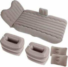 Riven Reisbed Auto Opblaasbaar Bed Multifunctionele Auto Opblaasbare Bed - voertuig achterbank bankkussen - Reisbed Auto Opblaasbaar - Grijs