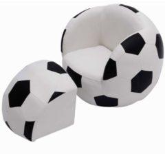 HOMCOM Kindersofa Fußball Kindersessel Fußballsofa Kindersessel Fußballsofa Softsofa Kinderzimmer