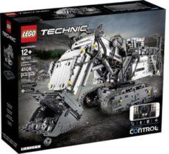 Lego Technic 42100 Liebherr R9800 Graafmachine met Geluid