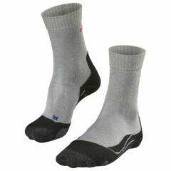 Falke - Women's TK2 Cool - Trekkingsokken maat 35-36 grijs/zwart