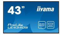 Iiyama ProLite LE4340S-B1 - 108 cm (43'') Klasse LED-Display LE4340S-B1