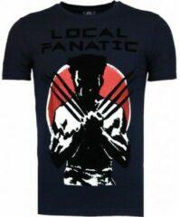 T-shirt Korte Mouw Local Fanatic Wolverine - Flockprint T-shirt