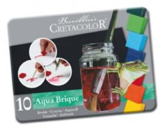 Cretacolor Aqua Brique Aquarelverf Set 10 Pan