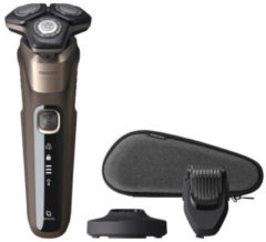 Philips SHAVER Series 5000 Elektrisch scheerapparaat, SteelPrecision-mesjes, Wet & Dry
